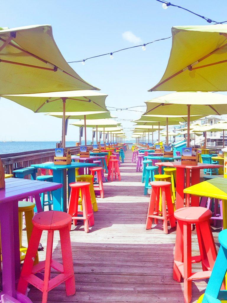 Sunset Pier restaurant Key West travel guide