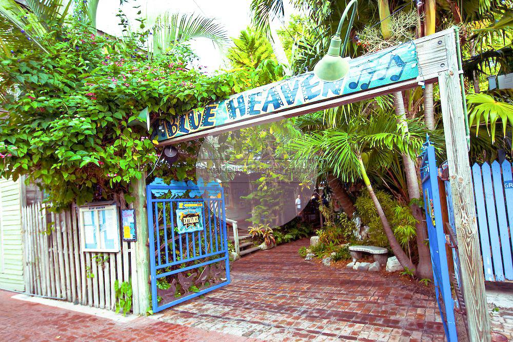 Blue Heaven Restaurant Key West travel guide