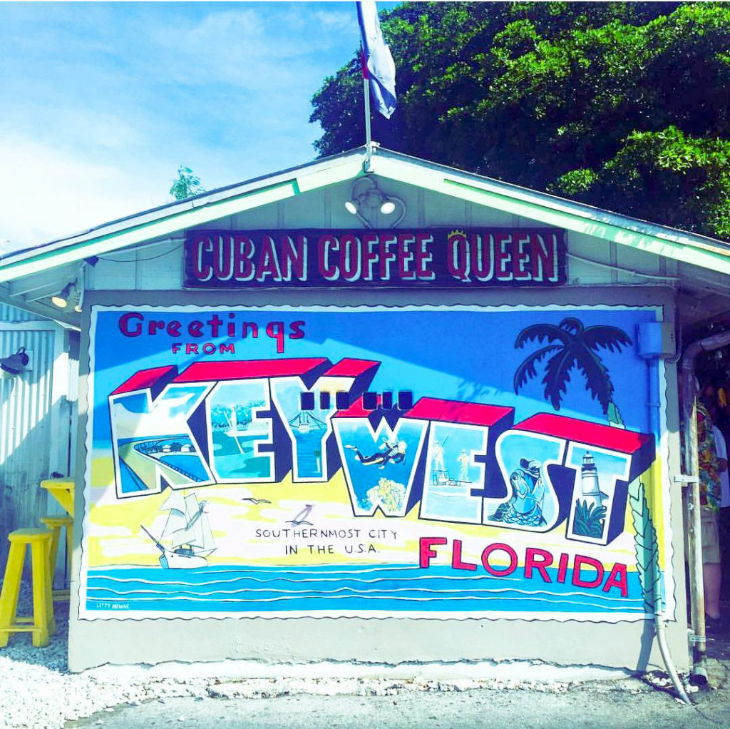 Cuban Coffee Queen stand Key West travel guide