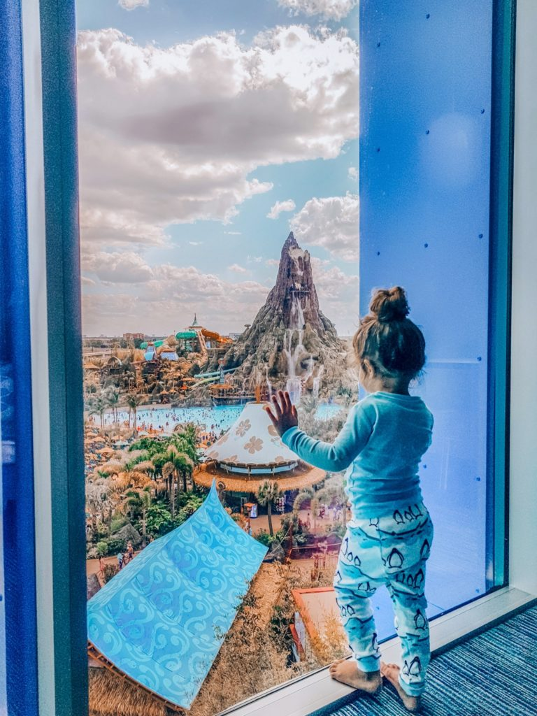 Cabana Bay Resort room with a view Volcano Bay